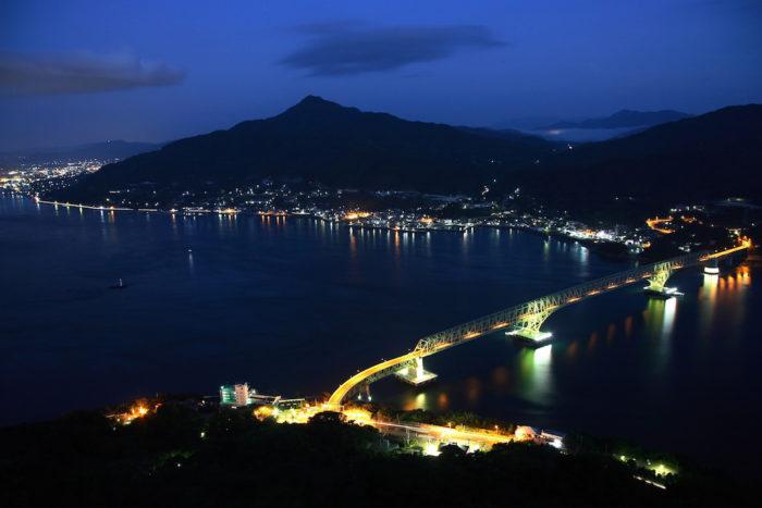 大島大橋夜景